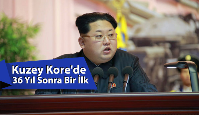Kuzey Kore'de 36 Yıl Sonra Bir İlk