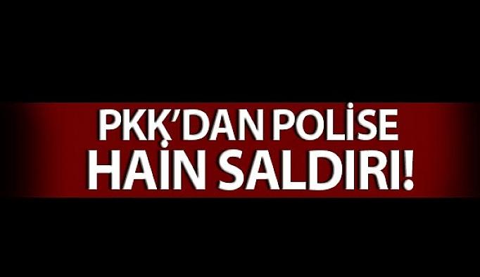 PKK'dan Polise Hain Saldırı