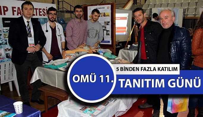 Samsun'da OMÜ Tanıtım Günleri Etkinliği