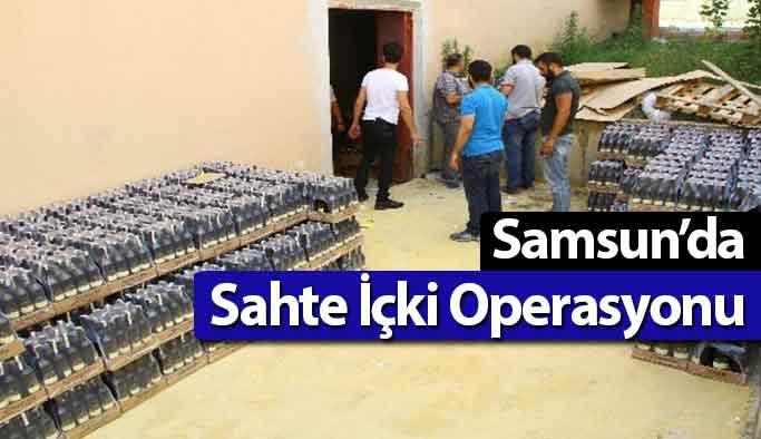 Samsun'da Sahte İçki !