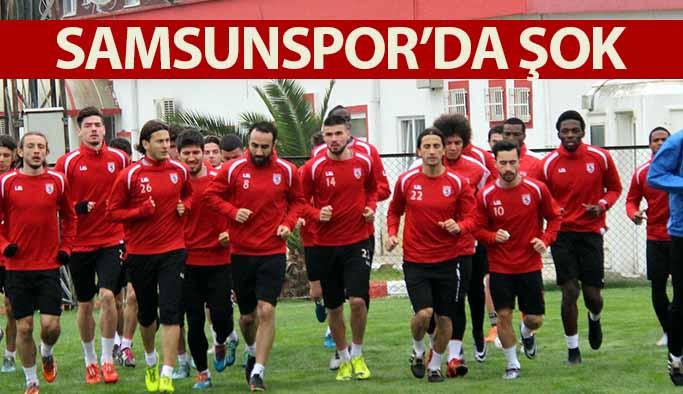Samsunsporlu 4 Futbolcu Takımı TFF'ye Şikayet Etti