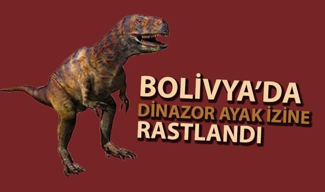 Bolivya'da Dinozora Ait Ayak İzine Rastlandı