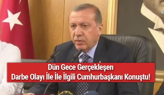 Cumhurbaşkanı Erdoğan'ın Ayrıldığı Yeri Bombaladılar!