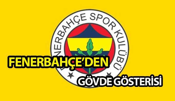 Fenerbahçe 3 futbolcuya imza töreni