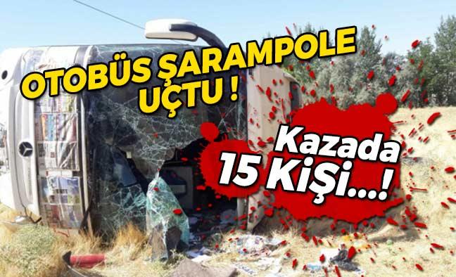 Otobüs Şarampole Uçtu!