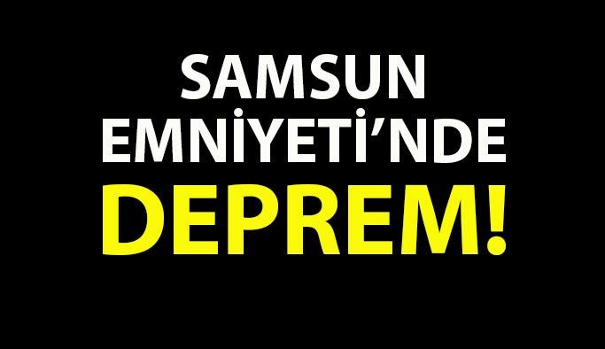 Samsun Emniyet Müdürlüğü'nde Deprem!