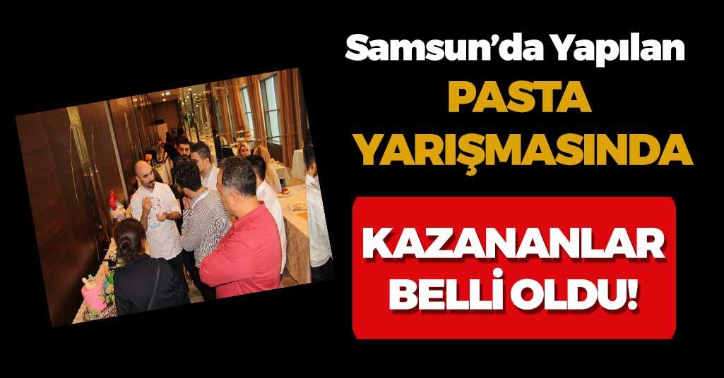 Anadolu'da bir ilk! Pasta yarışmasında...