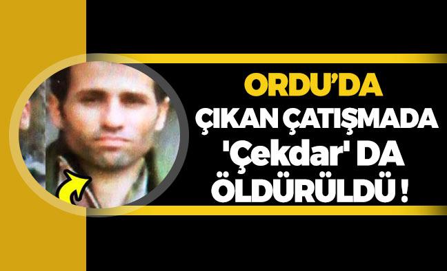 Ordu'da Yaşanan Çatışmada PKK Lideri de Öldürüldü