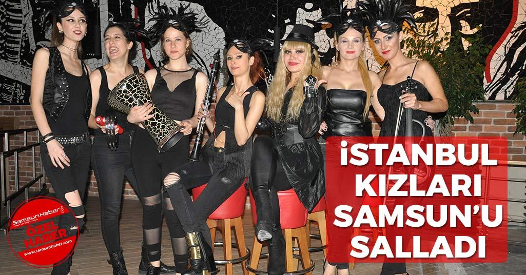 İstanbul Girls Orchestra Samsun'u Salladı