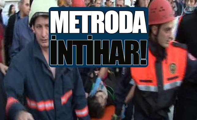Metroda intihar!