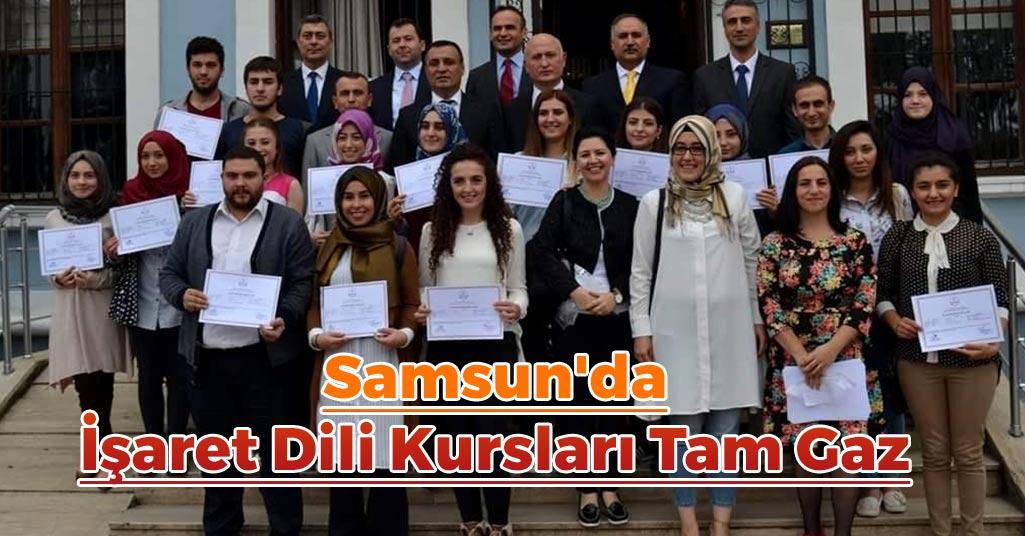 Samsun'da İşaret Dili Kursları Tam Gaz