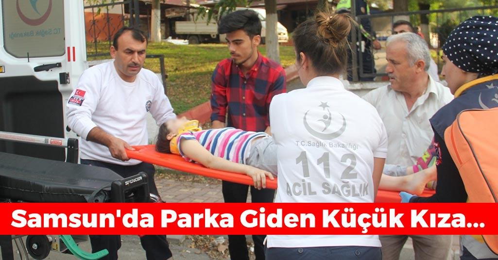 Samsun'da Parka Giden Küçük Kıza...