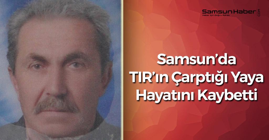 Samsun'daki Yaşlı Adam Karşıya Geçemedi