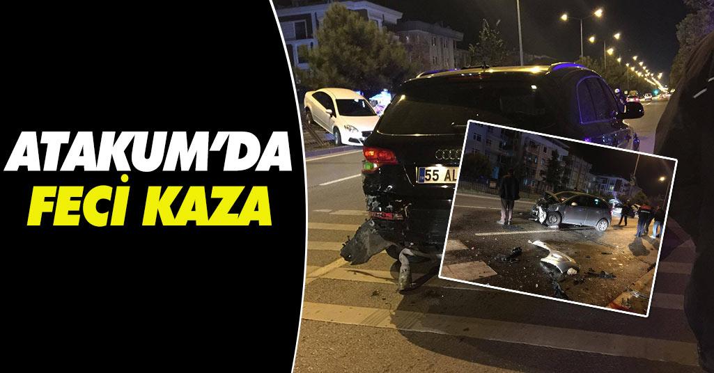 Atakum'da Kaza