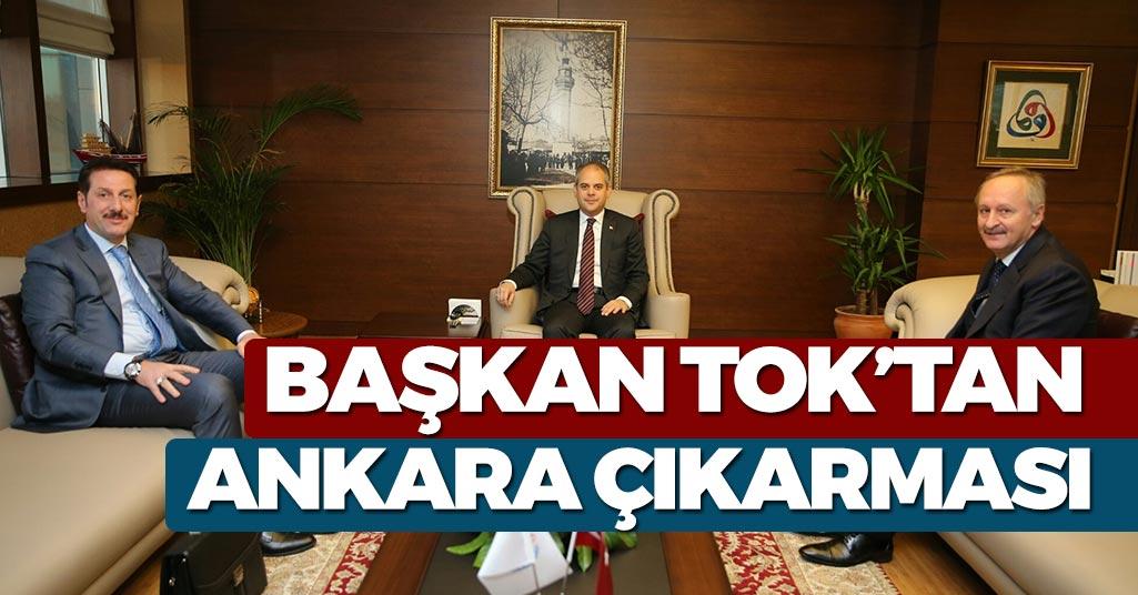 Erdoğan Tok'tan Ankara Çıkarması