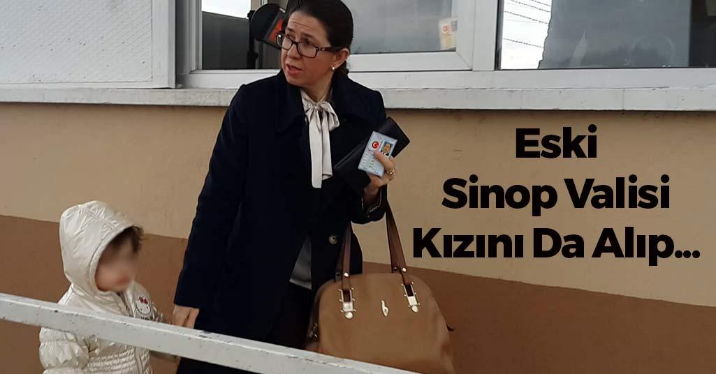 Eski Sinop Valisi Kızını Da Alıp...