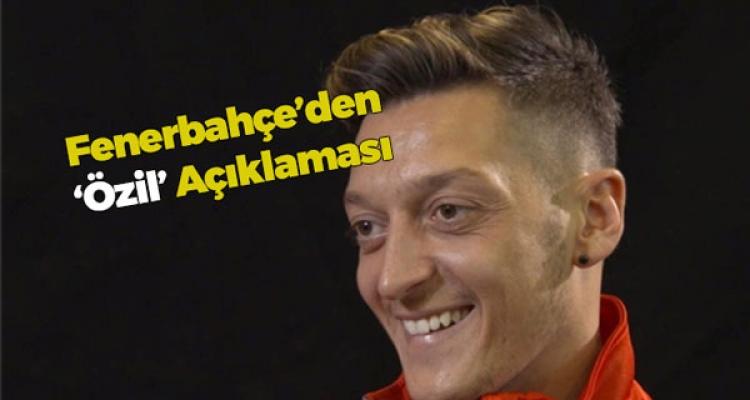 Fenerbahçe'den Mesut Açıklaması