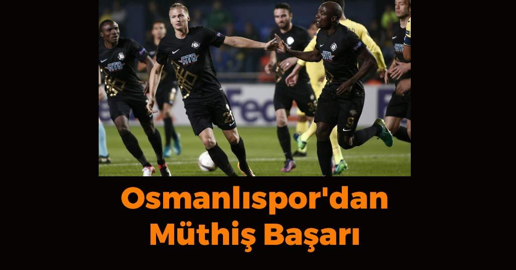 Osmanlıspor'dan Müthiş Başarı
