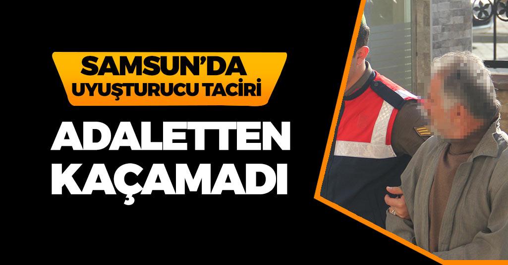 Samsun'da 6 Yıl  3 Ay Cezası Olan Şahıs Yakalandı