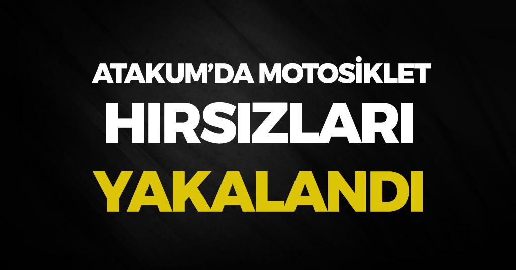 Samsun'da Motosiklet Hırsızları Yakalandı