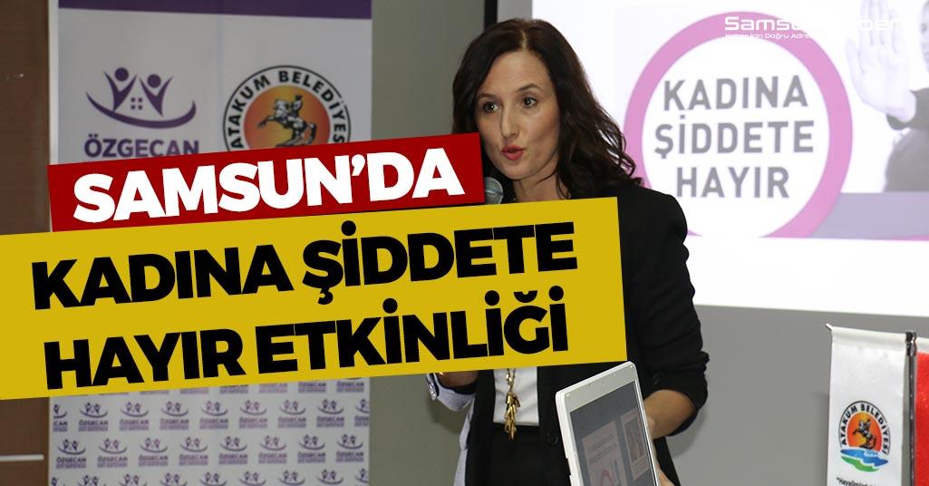 Samsun'da Özgecan Şiddet Farkındalığı