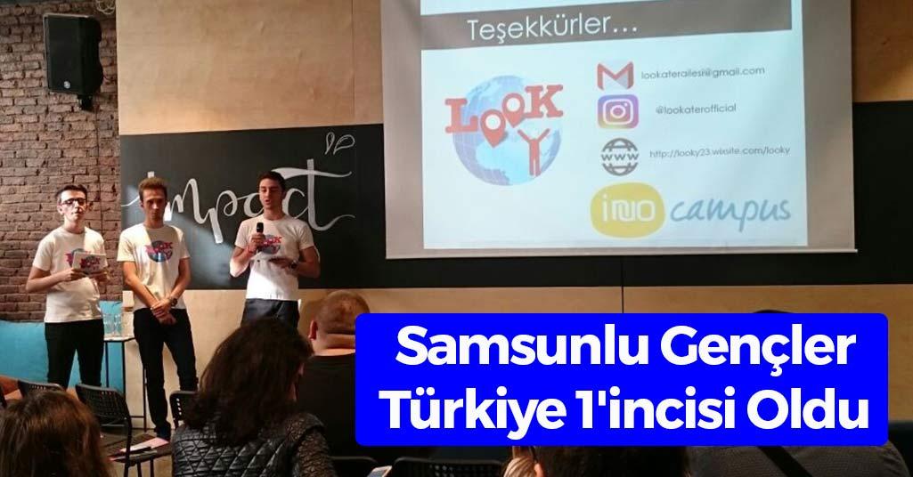 Samsunlu Gençler Türkiye 1'incisi Oldu