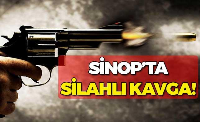 Sinop'ta Silahlı Kavga!
