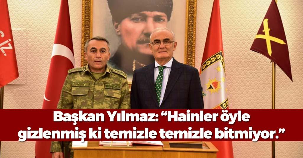 """Başkan Yusuf Ziya Yılmaz: """"Devletin bünyesindeki FETÖ virüsü temizlenecek"""""""