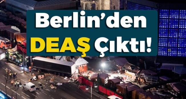 Berlin'deki Saldırıdan DEAŞ Çıktı