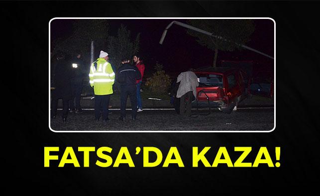 Fatsa'da Korkutan Kaza!