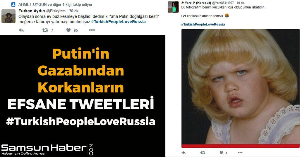 Putin'in Gazabından Korkanların Efsane Tweetleri