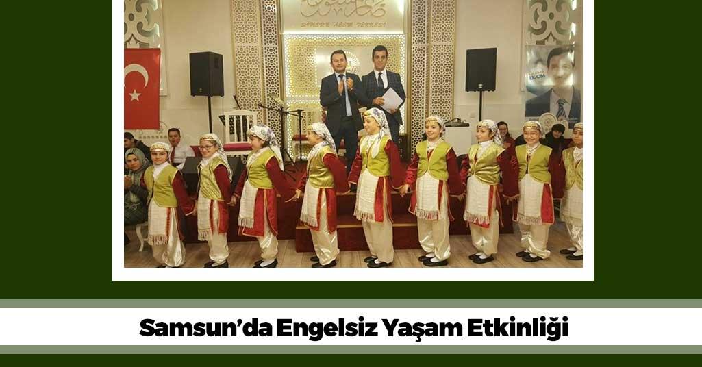 Samsun'da Engelsiz Yaşam Etkinliği