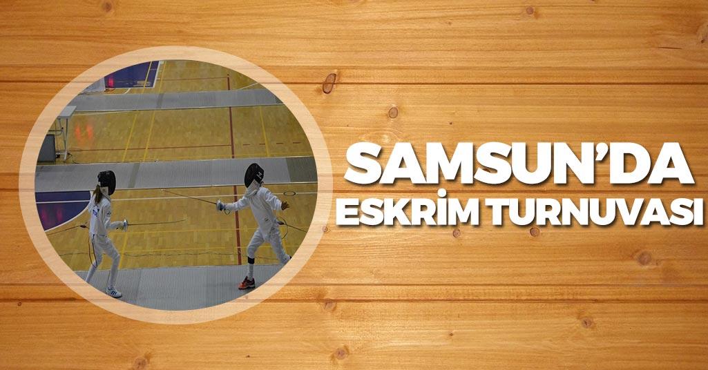 Samsun'da Miniklerin Eskrim Turnuvası