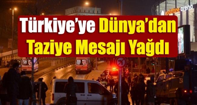 Türkiye'ye Dünya'dan Taziye Mesajları Yağdı