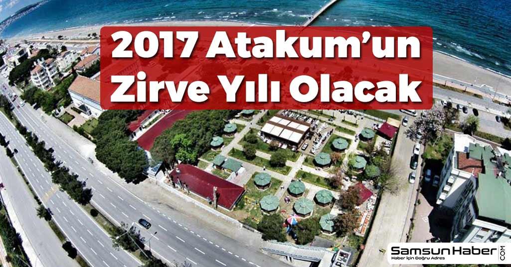 2017 Atakum'un Zirve Yılı Olacak