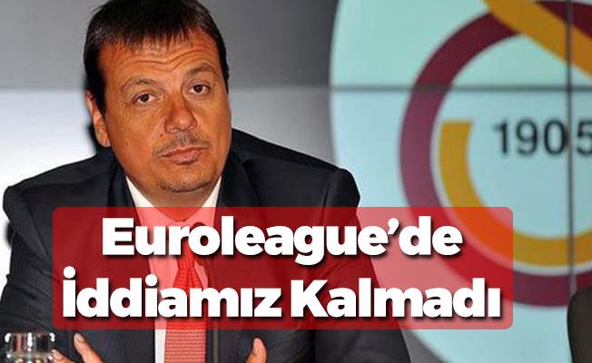 Ataman:  ''Euroleague'de Bir İddiamız Yok''