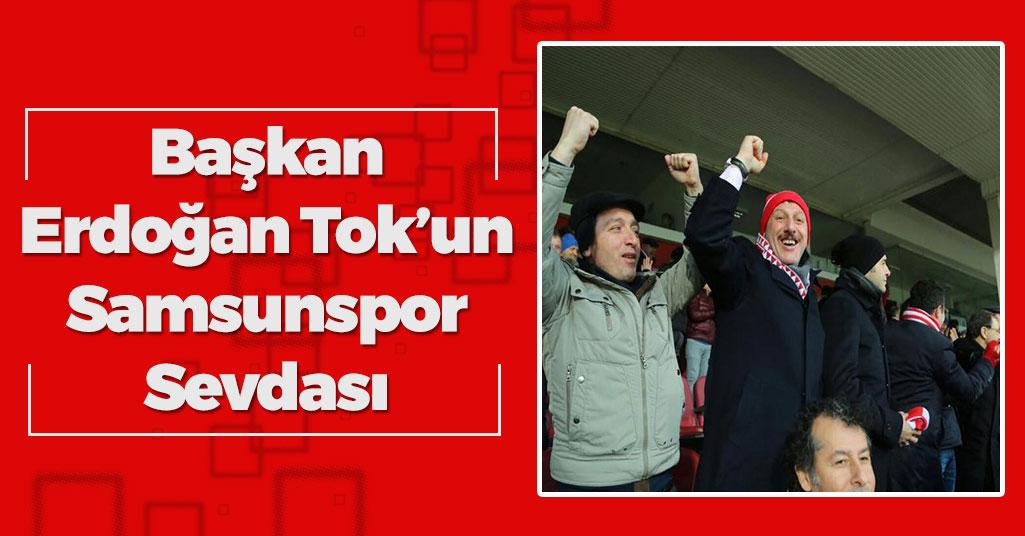 Başkan Erdoğan Tok'un Galibiyet Sevinci
