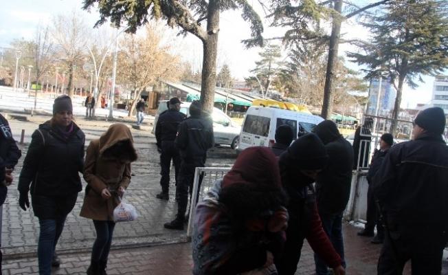 Bolu'da PKK operasyonunda 12 öğrenci adliyeye sevk edildi