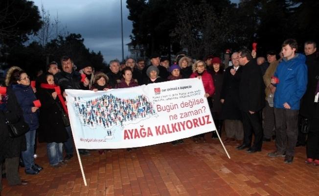 CHP'den Anayasa Değişikliğine Protesto