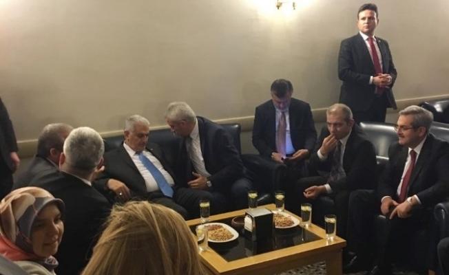 Enver Yılmaz, Başbakan Yıldırım ile Görüştü