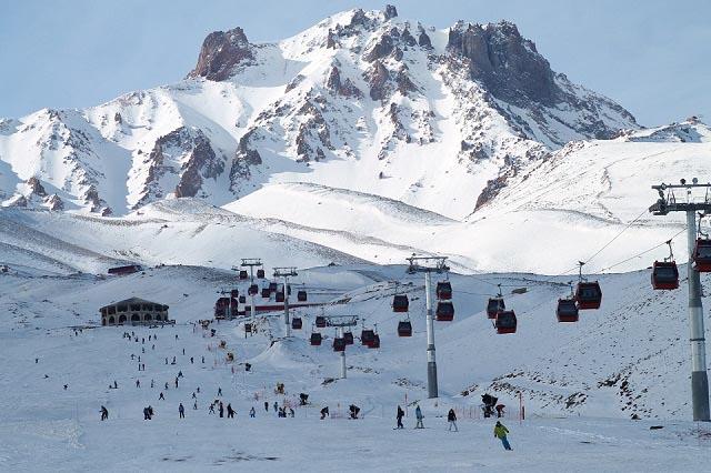 Erciyes Dağı'nda 15 Kişi Mahsur Kaldı!