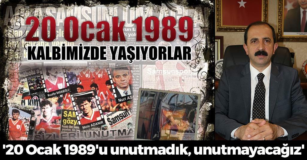 Muharrem Göksel: '20 Ocak 1989'u unutmadık, unutmayacağız'