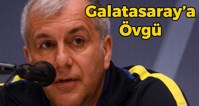 Obradovic'ten Galatasaray'a Övgü