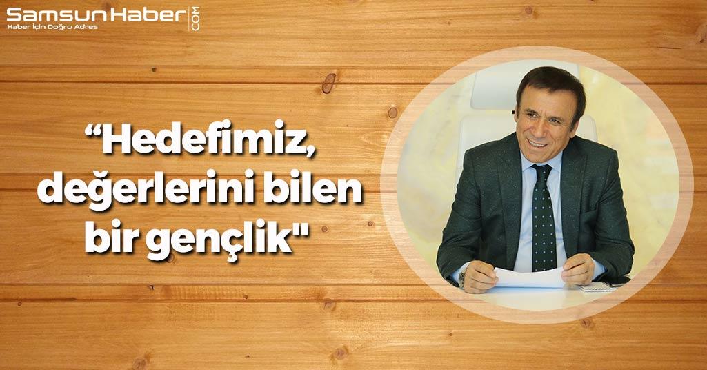 Osman Genç: 'Hedefimiz, değerlerini bilen bir gençlik'