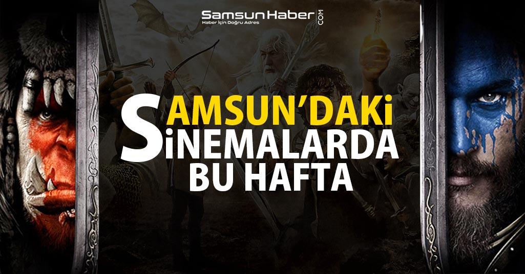 Samsun'da Bu Hafta Vizyonda Hangi Filmler Var?