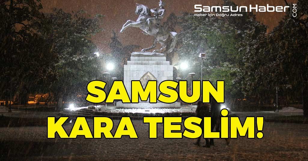 Samsun'da Kar Esareti