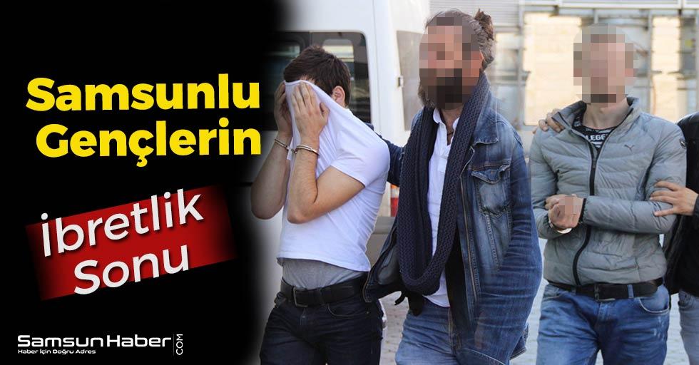 Samsun'da Gençlere Şok Ceza!