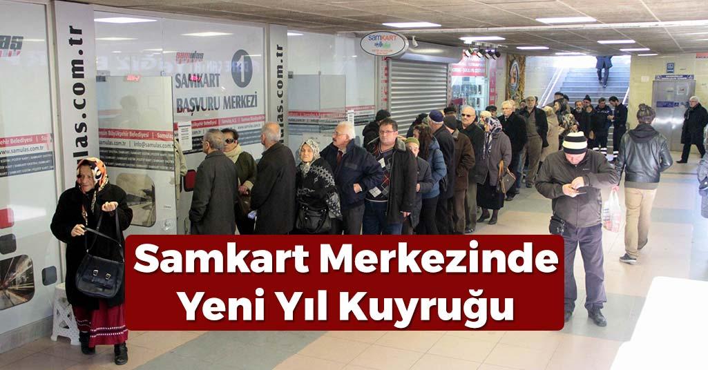 Samsun'da Yeni Yıl Kuyruğu