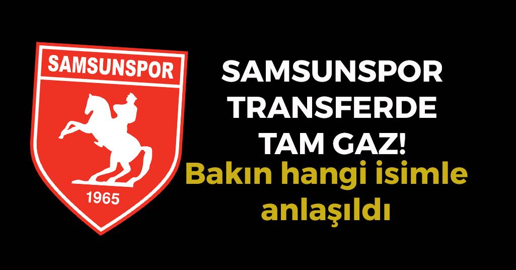 Samsunspor'da Bir Yeni İsim Daha