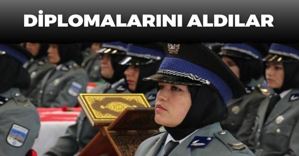 Sivas'ta 250 Afgan Kadın Polis Oldu